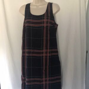 The Limited dress Sz M plaid sleeveless